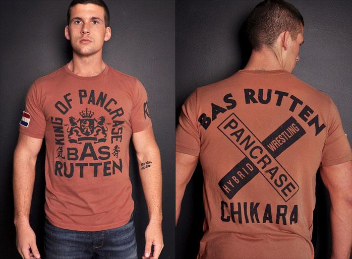 T-Shirt Bas Rutten Roots of Fight