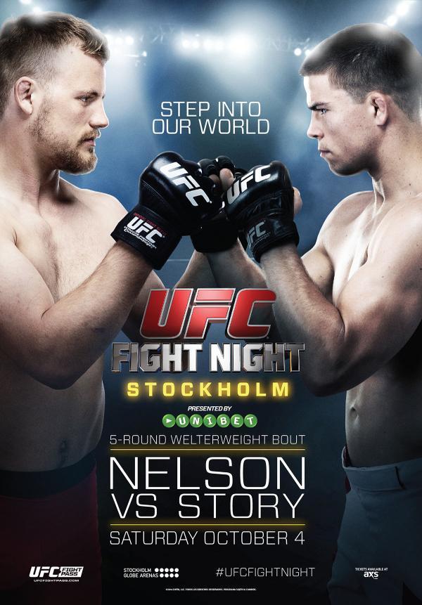 UFC Fight Night 53 Stockholm