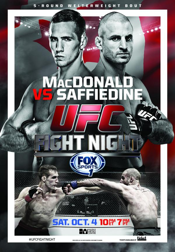 UFC Fight Night 54 Canada