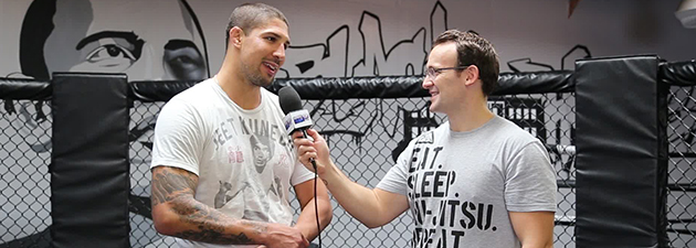 Interview de Brendan Schaub UFC 181