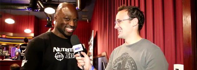 Interview de King Mo Lawal Bellator