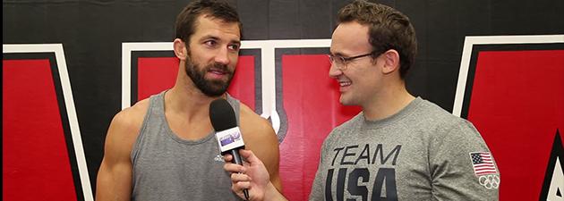 Interview de Luke Rockhold UFC Sydney Rockhold vs Bisping