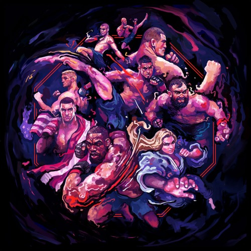 MMA UFC Street Fighter