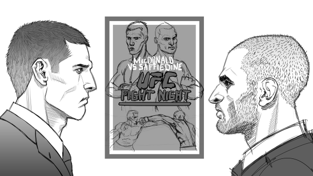 Saffiedine vs MacDonald manga
