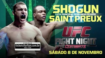 UFC Fight Night Shogun vs St Preux