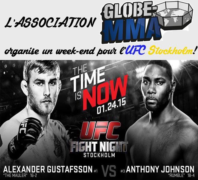 UFC on Fox 14 Stockholm association Globe MMA
