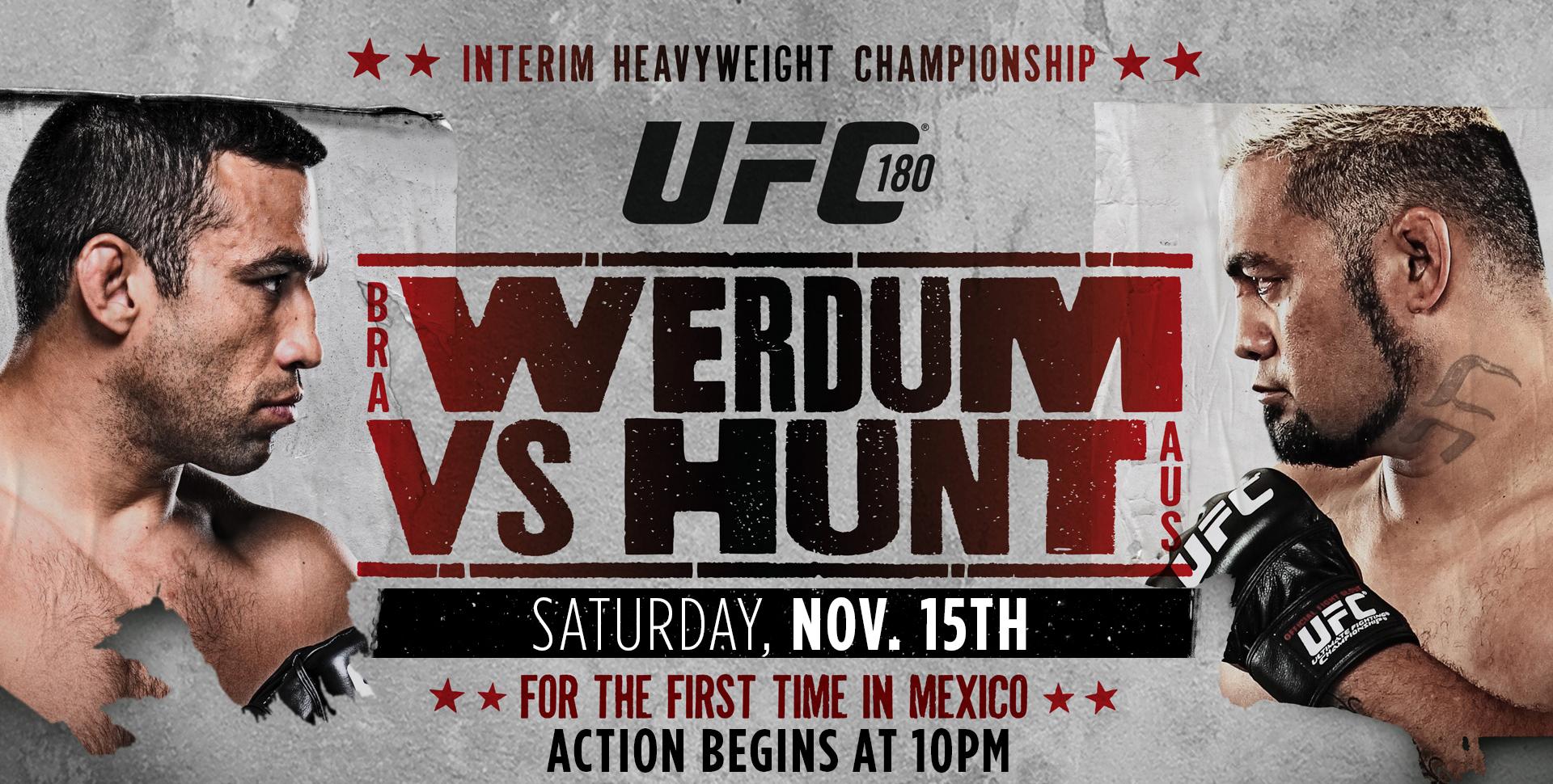 UFC180
