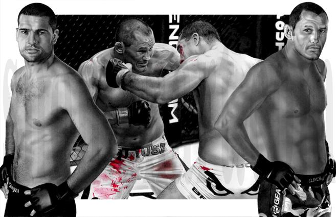 Dan Henderson vs Mauricio Shogun Rua by Evan Shoman