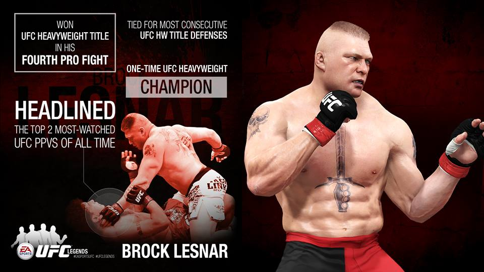 EA Sports UFC Brock Lesnar