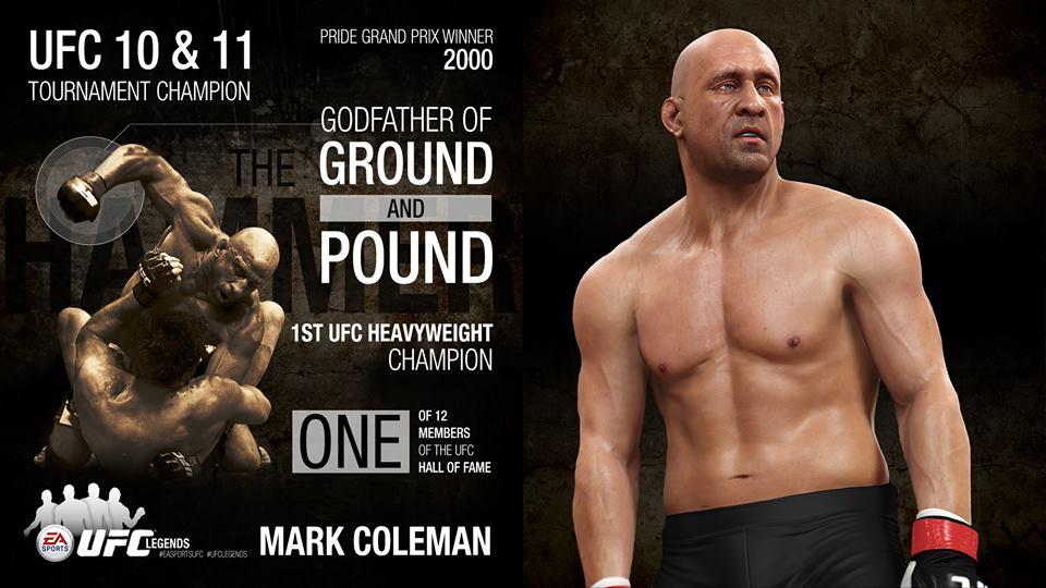 EA Sports UFC Mark Coleman