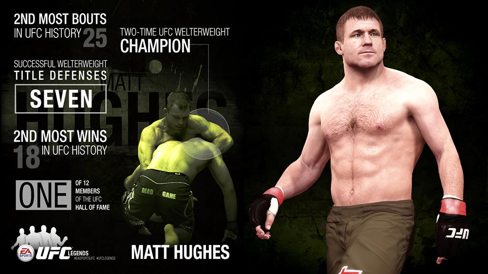 EA Sports UFC Matt Hughes