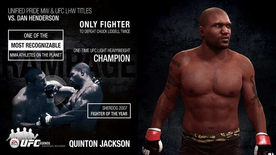 EA Sports UFC Quinton Rampage Jackson