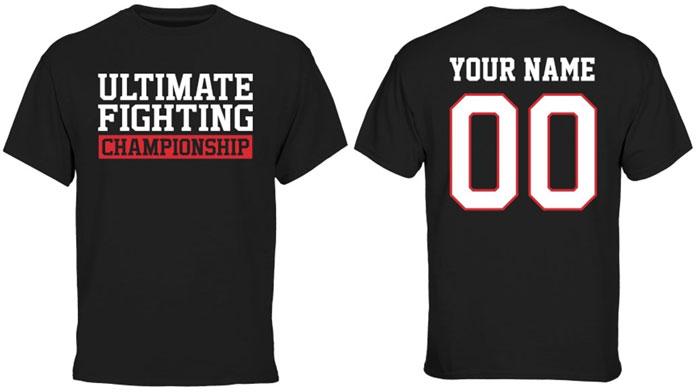 UFC Custom t-shirt