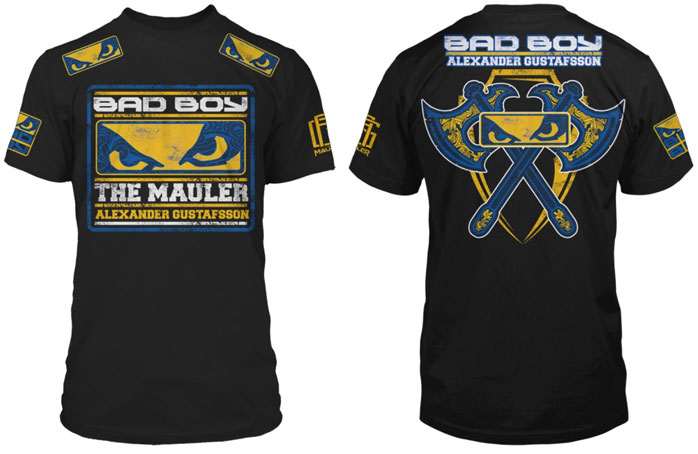 T-shirt Bad Boy Alexander Gustafsson Black