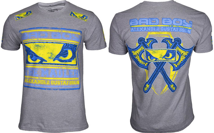 T-shirt Bad Boy Alexander Gustafsson