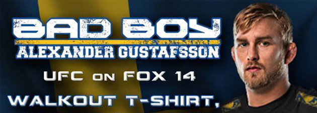 T-shirt-Bad-Boy-UFC-on-Fox-14-Alexander-Gustafsson-