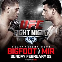 UFC Fight Night 61 Mir vs Bigfoot