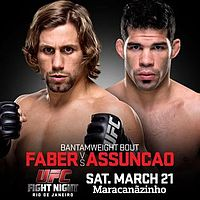 UFC Fight Night 62 Faber vs Assuncao