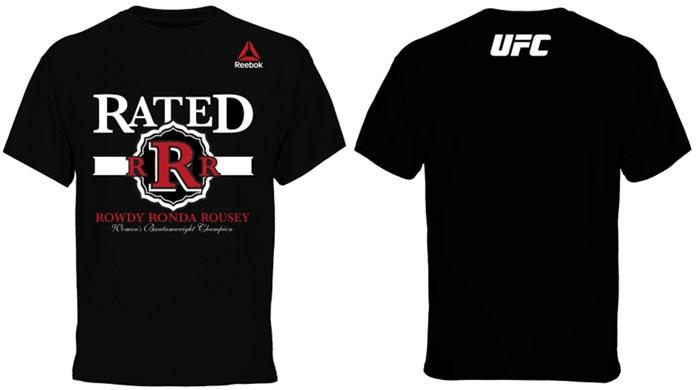 Ronda Rousey Reebok UFC 184