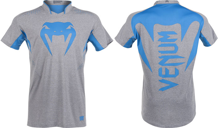 T-shirt Venum Hurricane bleu