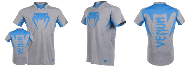 T-shirt-X-–-FIT™-Venum-«-Hurricane-»-bleu