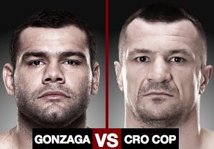 UFC Fight Night Crocop vs Gonzaga