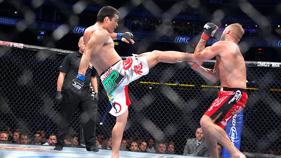 machida front kick couture