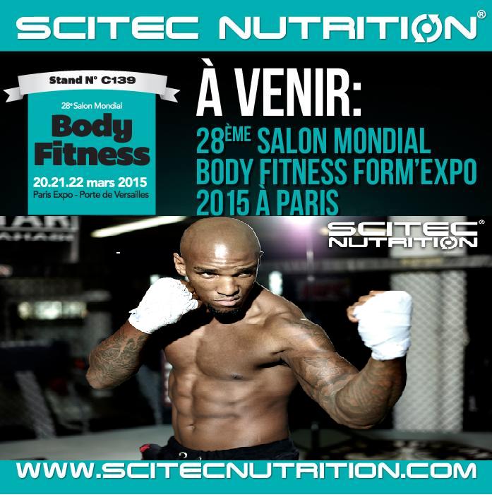 Francis carmont au salon du body fitness du 20 au 22 mars for Salon mondial du fitness