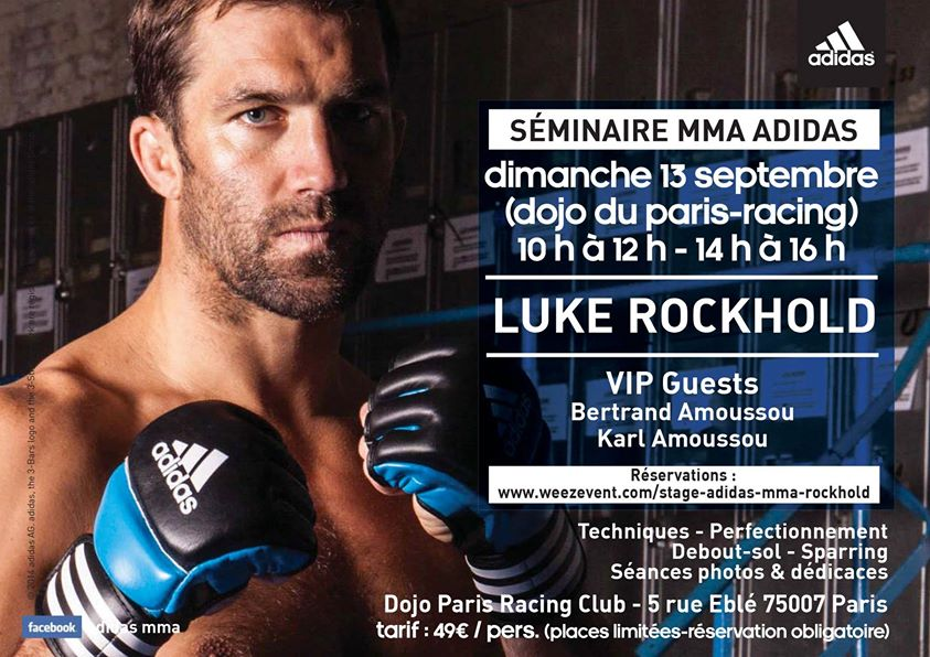 Stage Luke Rockhold Paris