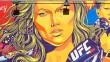Ronda Rousey inspire les artistes de Venice Beach