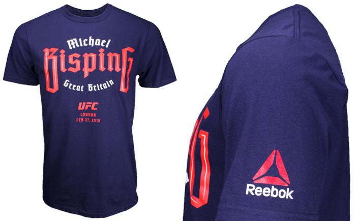 REEBOK Michael Bisping UFC Fight Night 84