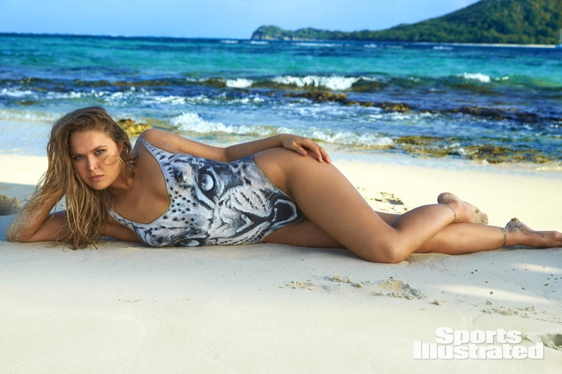 Ronda Rousey SI Swimsuit 2016