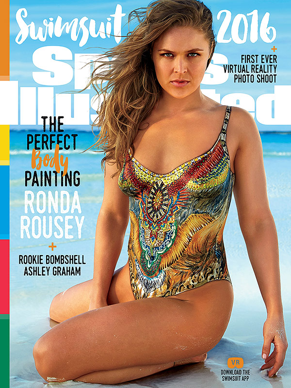 Sports Illustrated Swimsuit edition 2016 Ronda Rousey