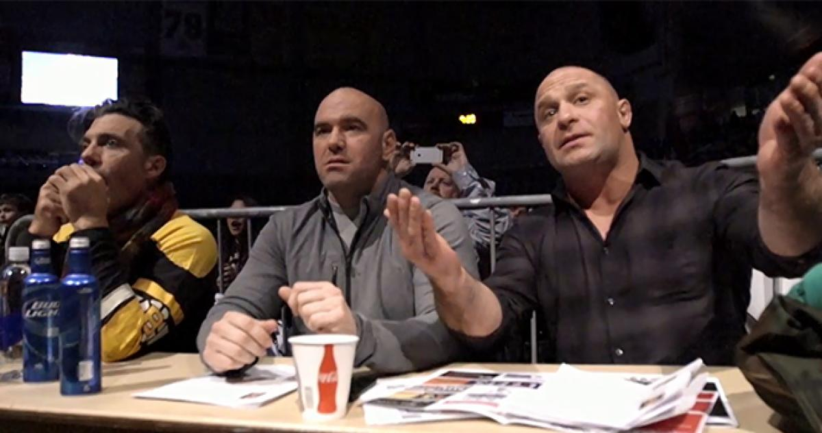 Dana White Lookin for A Fight Matt Serra Nick Gullo