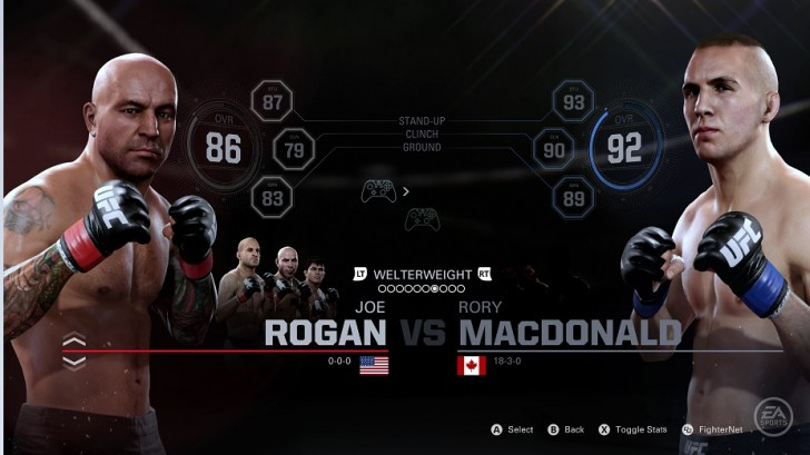 Joe Rogan EA Sports UFC 2