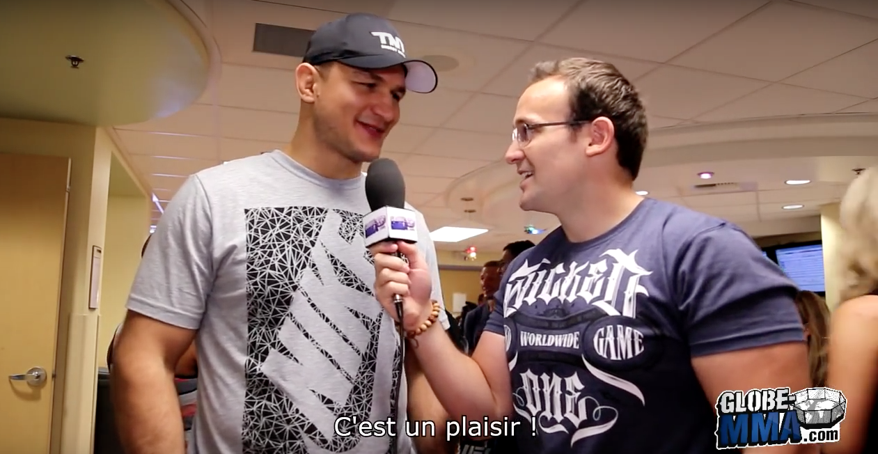 Interview Globe MMA Junior Dos Santos