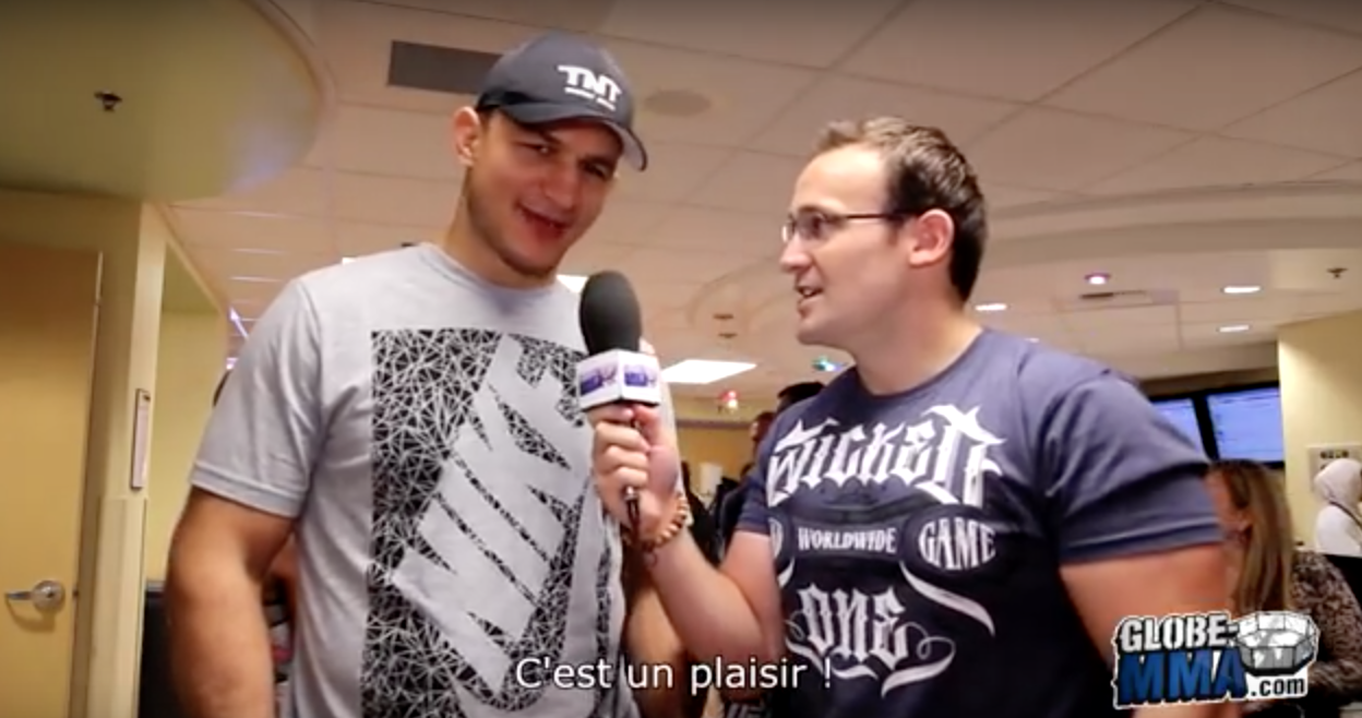 Interview Junior Dos Santos