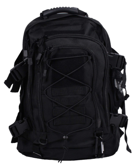 Gracie Jiu Jitsu backpack black