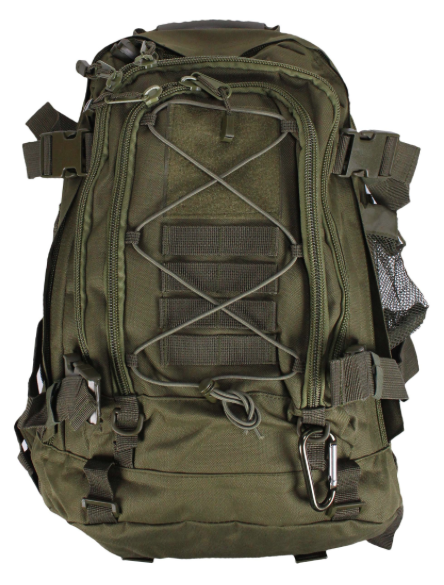 Gracie Jiu Jitsu backpack camo