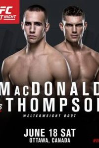 UFC Fight Night 89 Ottawa